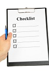checklist beofre the meeting